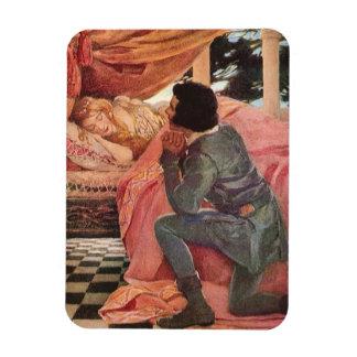Bella durmiente del vintage de Jessie Willcox Smit Iman Flexible