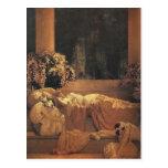 Bella durmiente, Maxfield Parrish Tarjeta Postal
