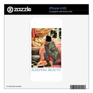 Bella durmiente skins para eliPhone 4