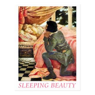 Bella durmiente tarjetas postales