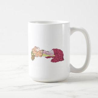 Bella durmiente tazas de café