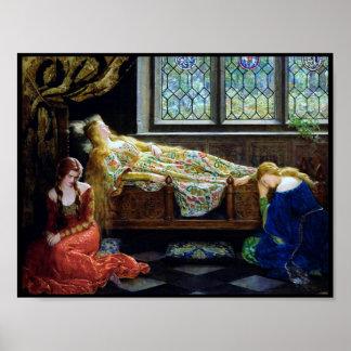 Bella durmiente y las doncellas poster