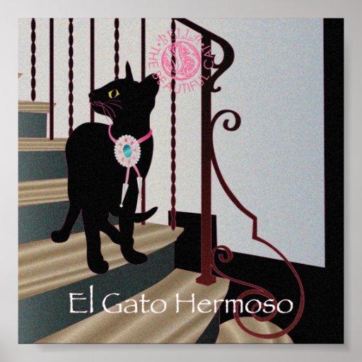 "Bella: El gato hermoso 12 6"""" poster x6"