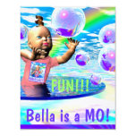 ¡BELLA es un MES! Invitación Invitación 10,8 X 13,9 Cm