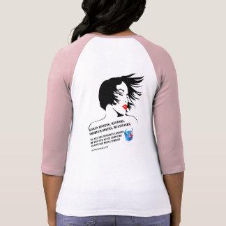 Bella Feminine Leaders Raglan T-Shirt 2