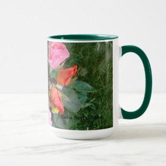 Bella fiori d'Italia - Large Ceramic Mug