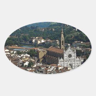 Bella Firenze Oval Sticker