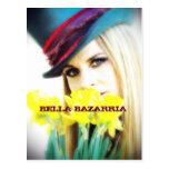 BELLA -Flowers-Postcard
