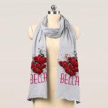 "Bella Hearts on Fire Scarf<br><div class=""desc"">xxx</div>"