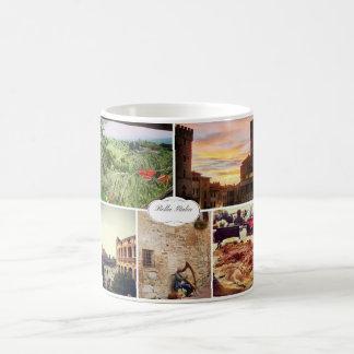 Bella Italia, Italy Souvenir Coffee Mug