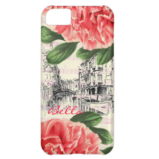 Bella Italy peony iPhone 5 Case / Cover