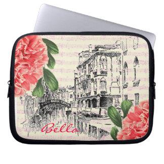 Bella Italy peony Laptop Case Laptop Sleeves