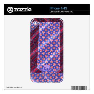 Bella IV - Cravatte Cover Decals For iPhone 4