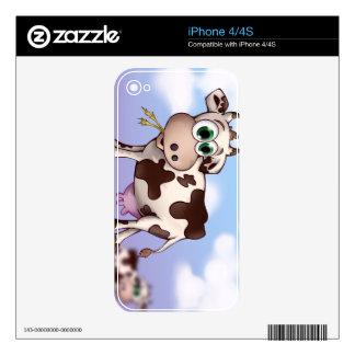 Bella la vaca skins para eliPhone 4S