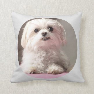 Bella Let's Go See Maltese Pillow