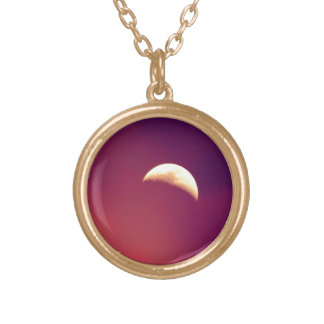 Bella Luna Gold Plated Necklace