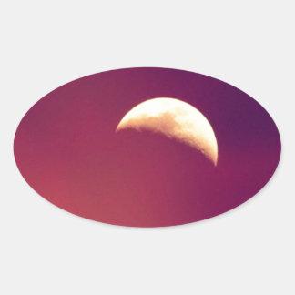 Bella Luna Oval Sticker