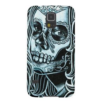 Bella Morte Day of the Dead Sugar Skull Girl Case For Galaxy S5