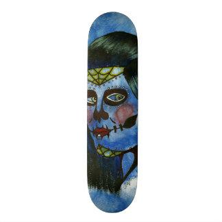 Bella Muerta Custom Skate Board