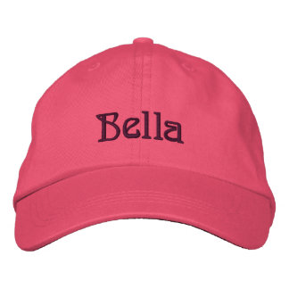BELLA Name Designer Cap