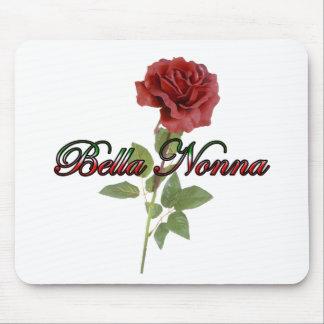 Bella Nonna (abuela italiana hermosa) Alfombrilla De Raton
