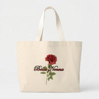 Bella Nonna (abuela italiana hermosa) Bolsa Tela Grande