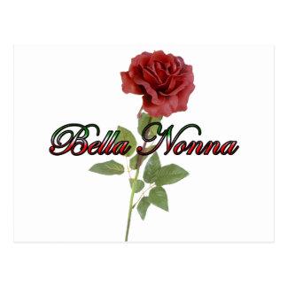 Bella Nonna (abuela italiana hermosa) Tarjeta Postal