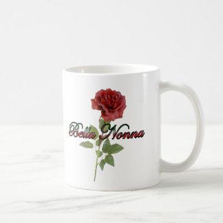 Bella Nonna (abuela italiana hermosa) Tazas De Café