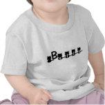 Bella (personalizado del nombre a petición) - camisetas