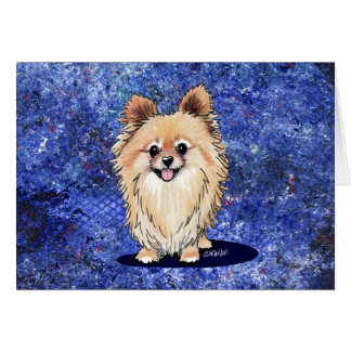 Bella Pom Galaxy Art Card
