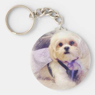 Bella Puppy Power Keychain