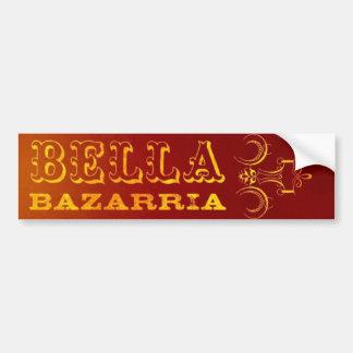 BELLA -RUST - Bumper sticker Car Bumper Sticker