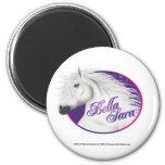 Bella Sara Logo 2 Inch Round Magnet