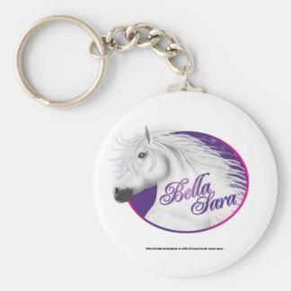 Bella Sara Logo Keychain