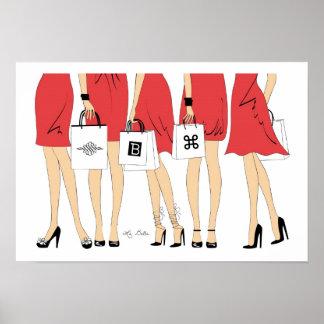 Bella Shopping Print