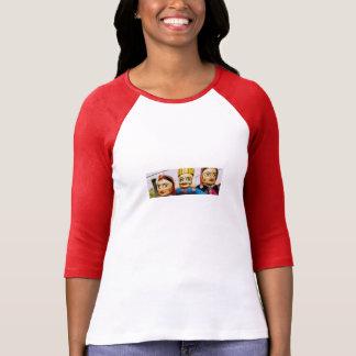 Bella t Womens shirt Playera