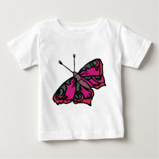 Bella the Butterfly Cute Cartoon Insect Baby T-Shirt