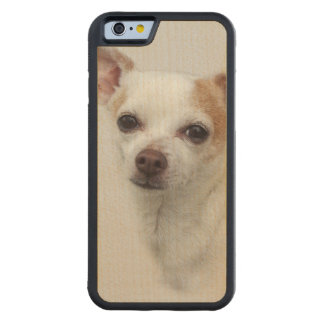 Bella ~ the Chihuahua Carved Maple iPhone 6 Bumper Case