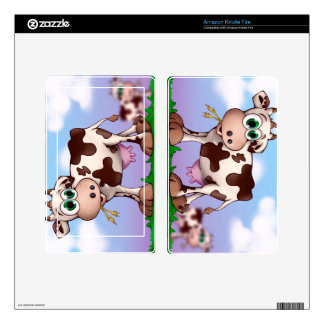 Bella The Cow Decals For Kindle Fire