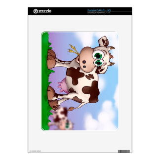 Bella The Cow Decals For The iPad