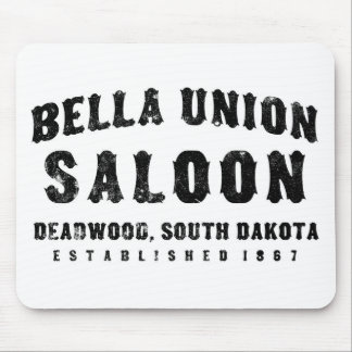 Bella Union Saloon Mouse Pad