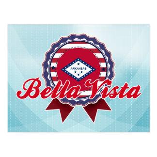Bella Vista, AR Tarjeta Postal