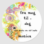 bellababells meg&deg classic round sticker
