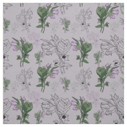 Belladonna Deadly Nightshade Fabric