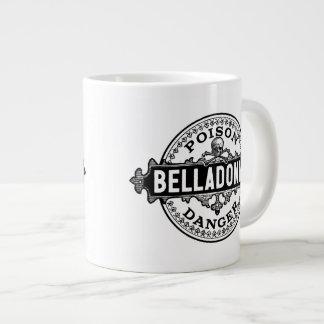 Belladonna Vintage Style Poison Label Giant Coffee Mug