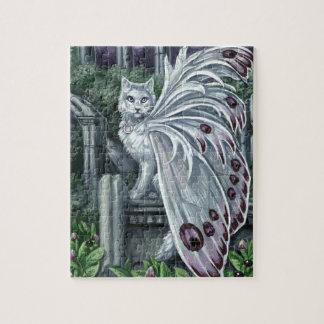 Belladonna White Fairy Cat Puzzle