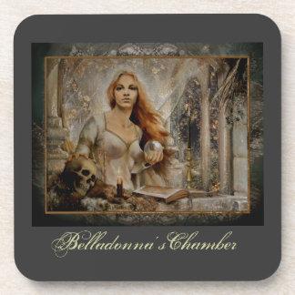 «Belladonna's Chamber» Drink Coaster
