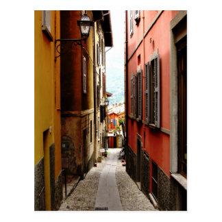 bellagio alleyway postcard
