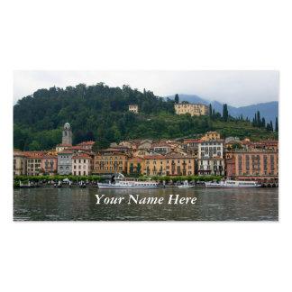 Bellagio at Lake Como Business Card Template
