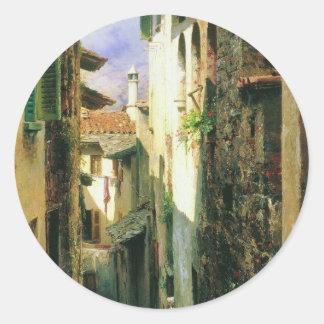 Bellagio by Fyodor Bronnikov Classic Round Sticker